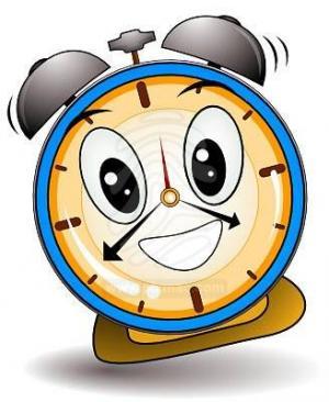 Image of Smiling Alarm Clock